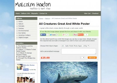 Malcolm Horton Print Store
